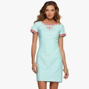 Lilly Pulitzer Crystal Water Beaded Nora Dress